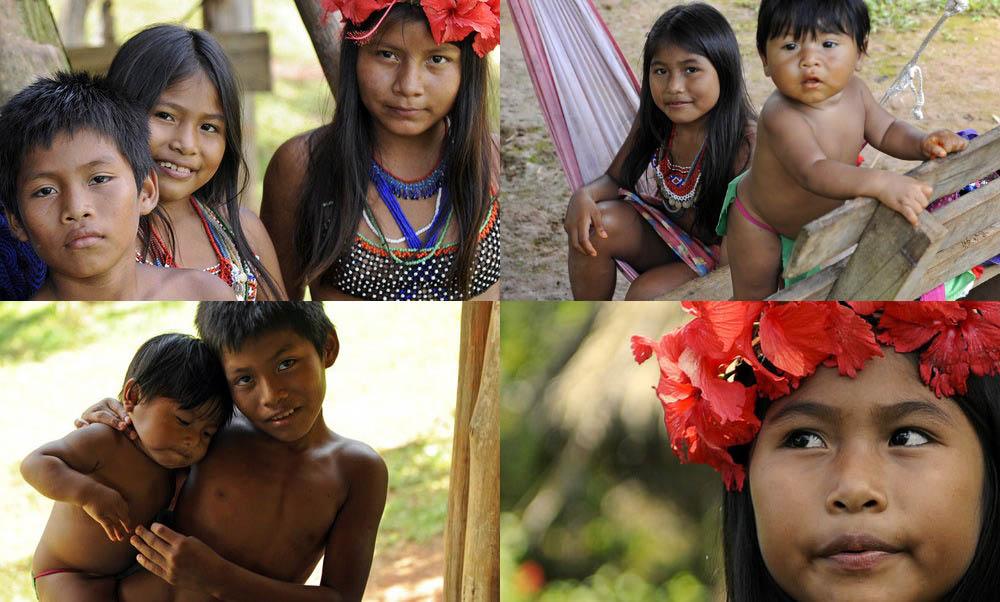 embera-indian-village-panama-children