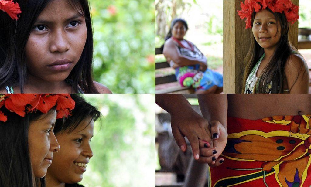 embera-indian-village-panama-women-girls