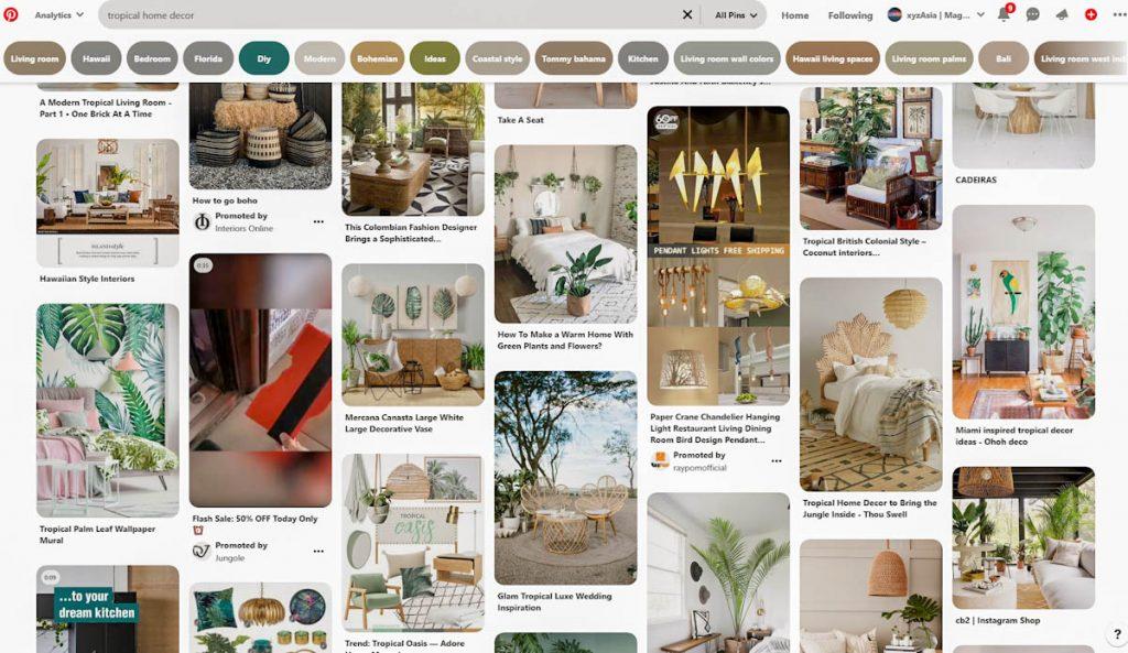 pinterest-screenshot-tropical-decorating-ideas