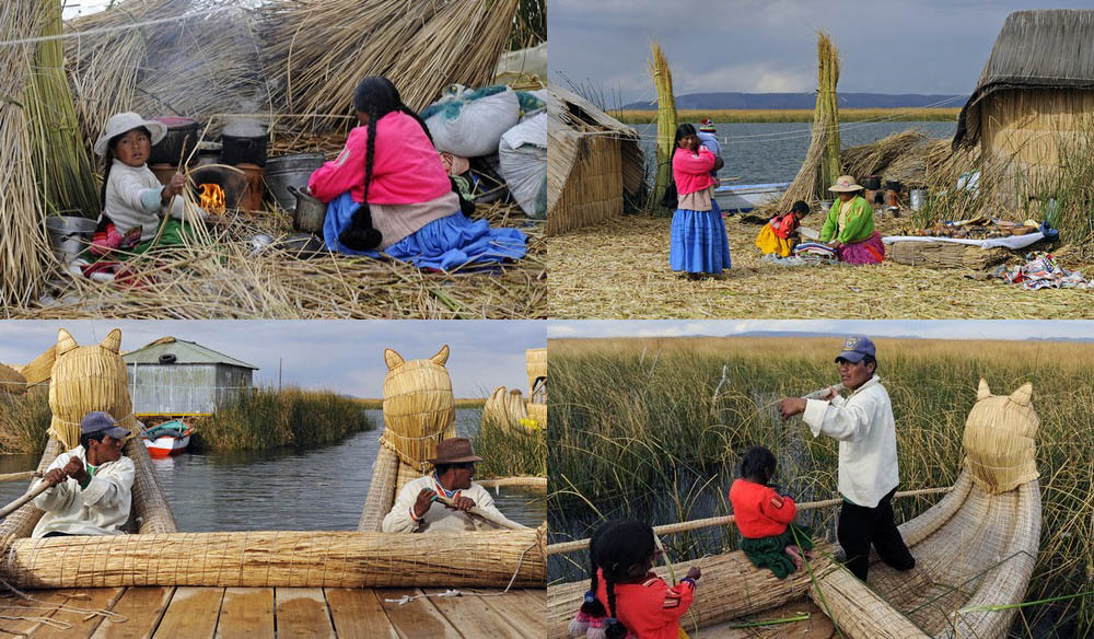 uros-islands-lake-titicaca-family-chores