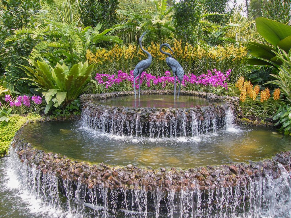 water-feature-national-orchid-garden-singapore